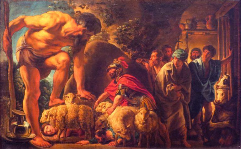 «Одиссей в пещере Полифема»