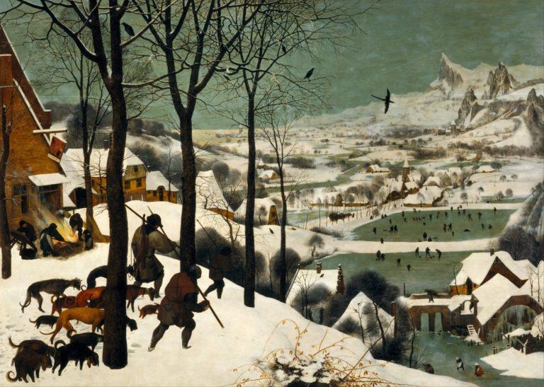 Охотники на снегу. 1565