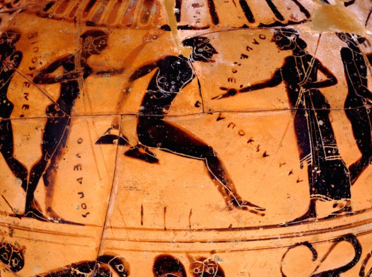 Олимпийские игры в архаической Греции