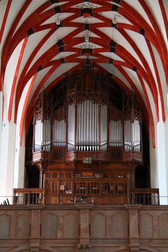 Орган церкви св. Фомы, Лейпциг