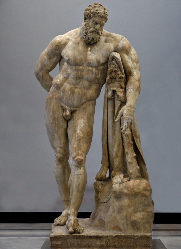 Отдыхающий Геркулес (конец II - начало III вв. н.э.)