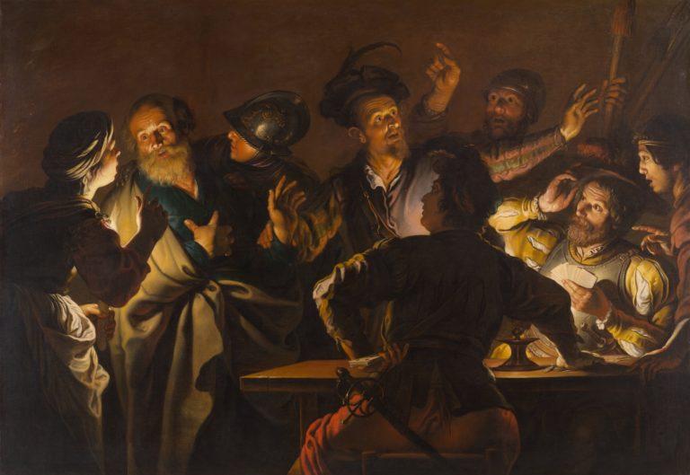 Отречение Петра. Ок. 1620-1625