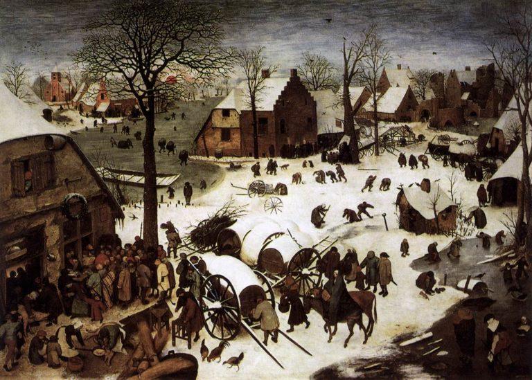 Перепись в Вифлееме. 1566