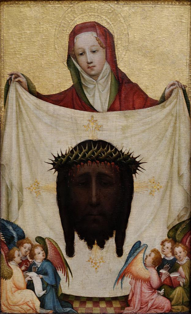 Плат святой Вероники. Ок. 1420 или после 1425