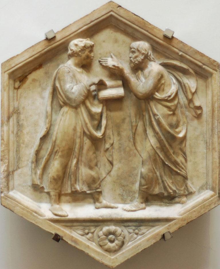 «Платон и Аристотель, или Философия» (1437–1439)