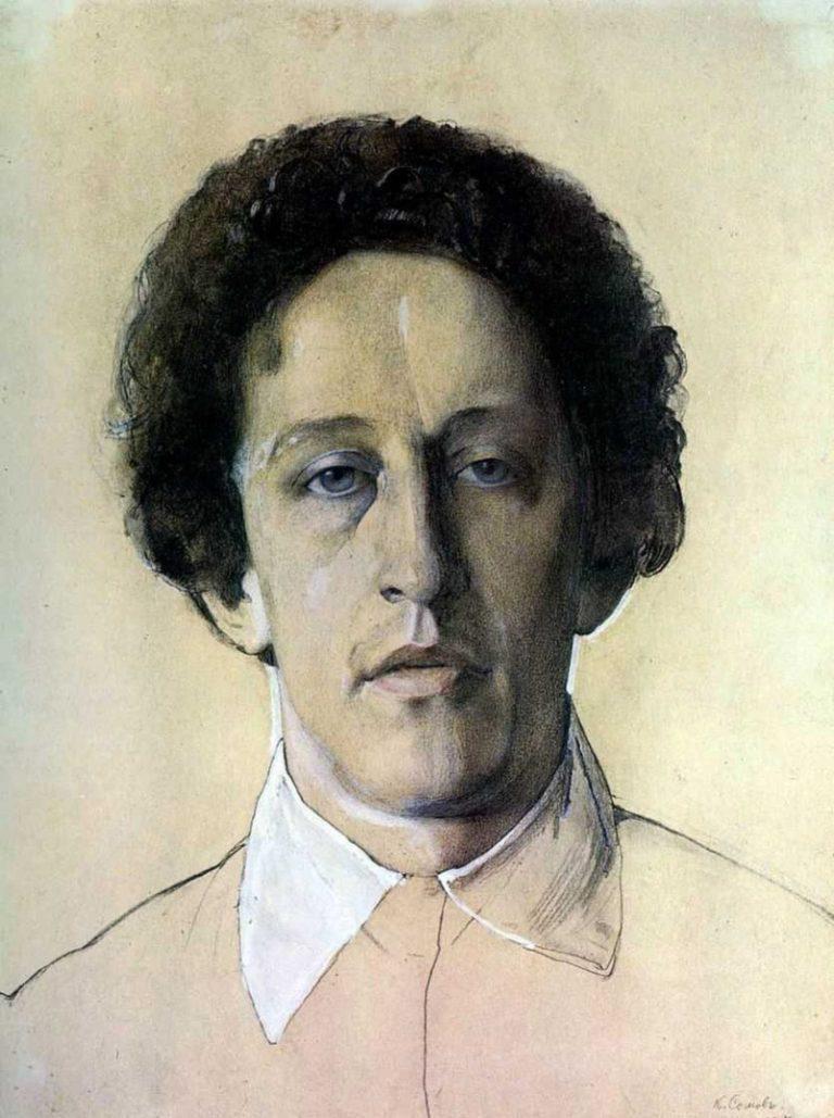 Портрет Александра Блока. 1907.