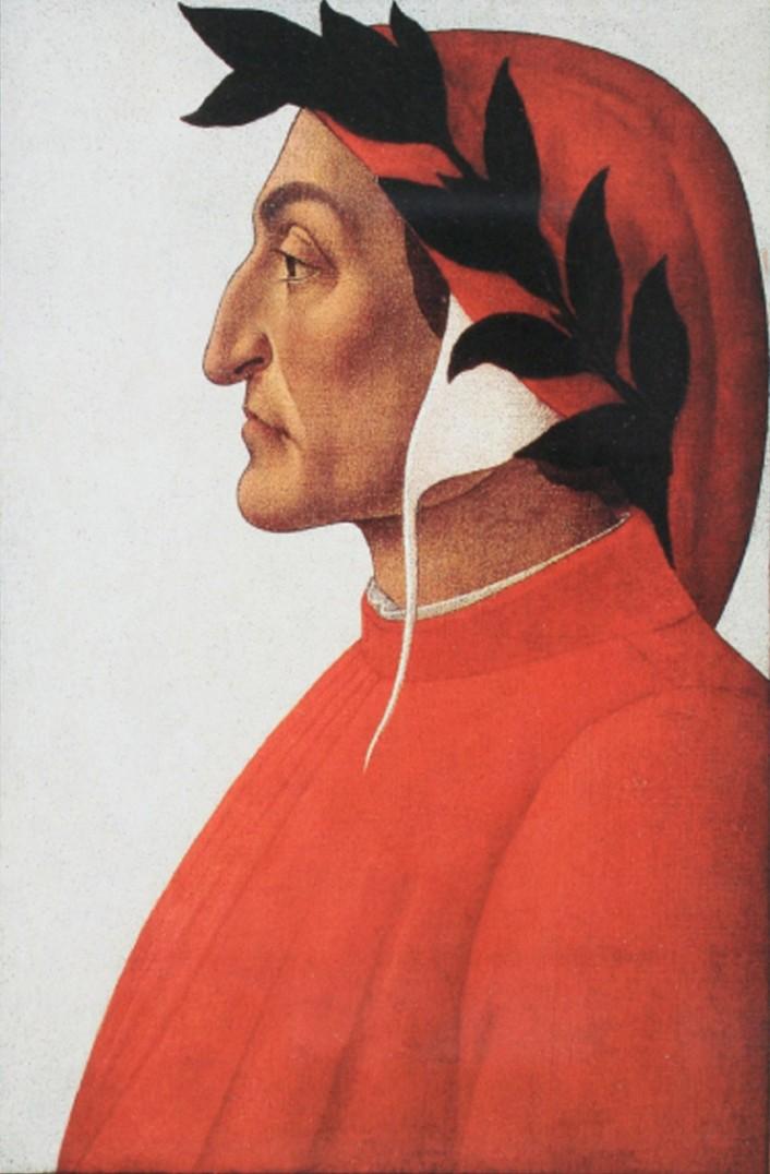 Портрет Данте. ок. 1495