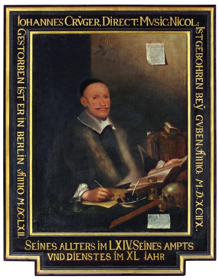 Портрет Иоганна Крюгера (1663)