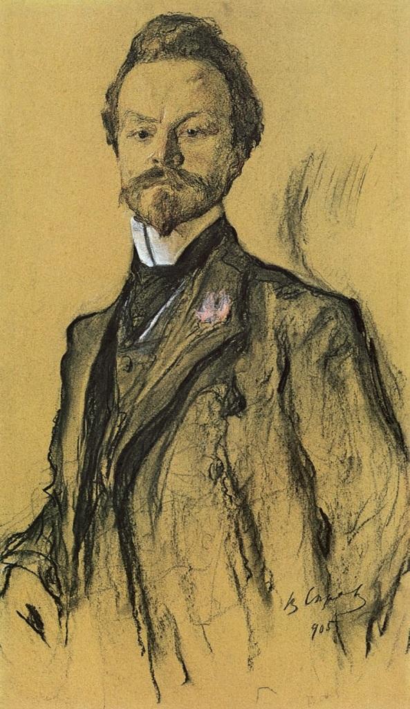 Портрет Константина Дмитриевича Бальмонта. 1905