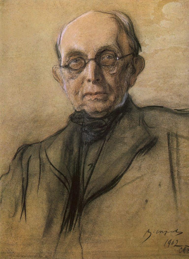Портрет Константина Петровича Победоносцева. 1902