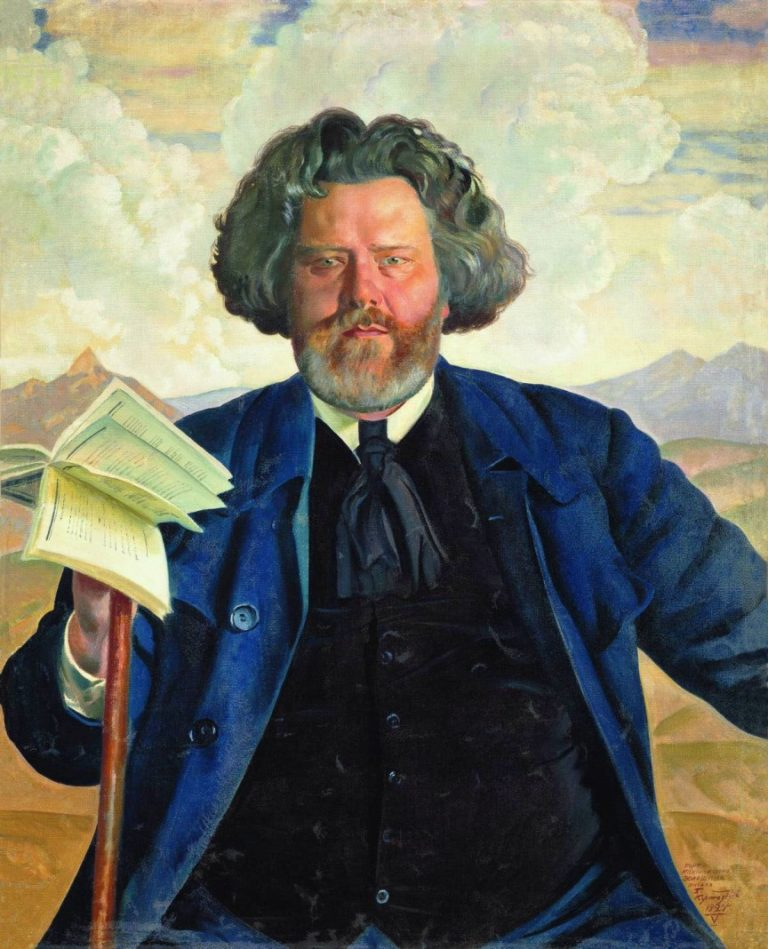 Портрет Максимилиана Волошина (1924)