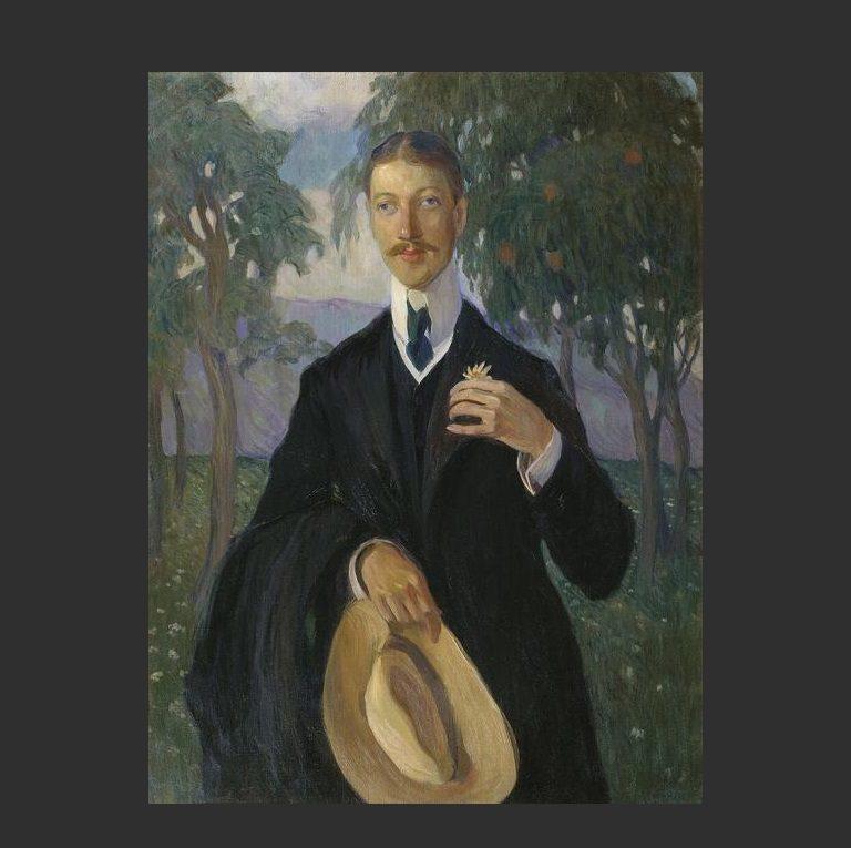 Портрет Николая Гумилева. 1909