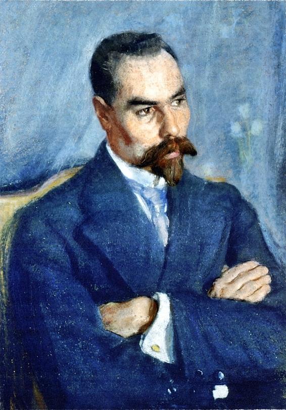 Портрет Валерия Брюсова. 1913