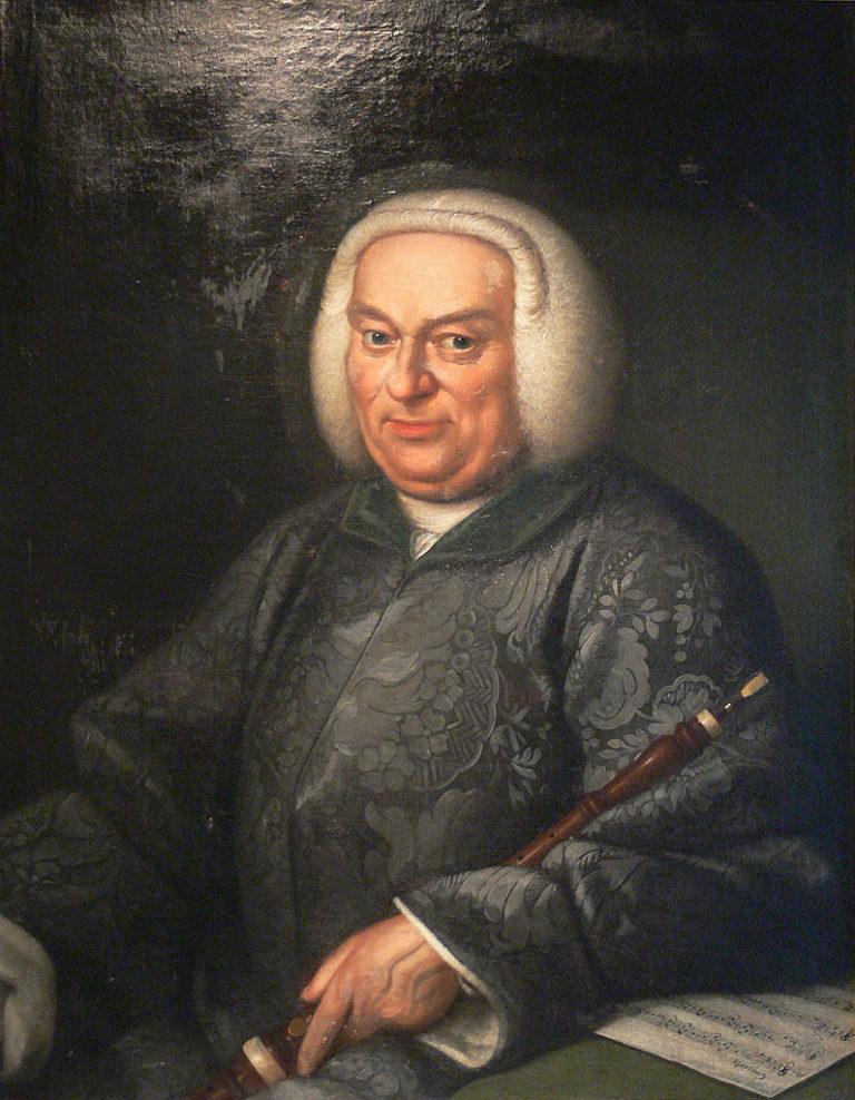 Портрет неизвестного гобоиста работы неизвестного художника XVIII в.