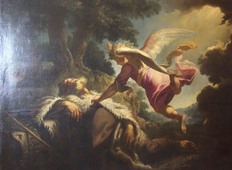 Последнее причастие св. Гюнтера. 1718