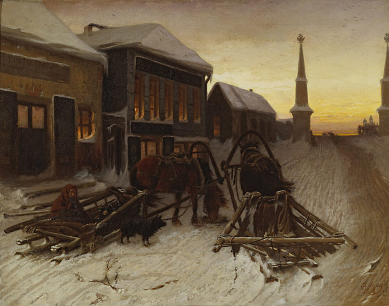 Последний кабак у заставы. 1868