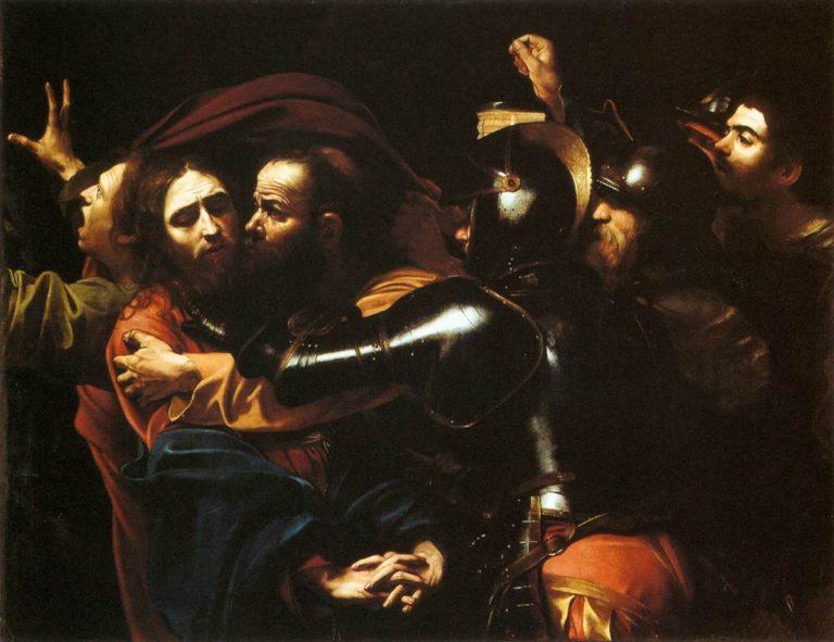 Поцелуй Иуды, или Взятие Христа под стражу. Ок. 1602