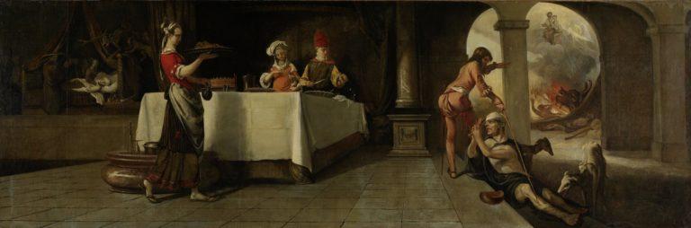 Притча о богаче и Лазаре (1661)