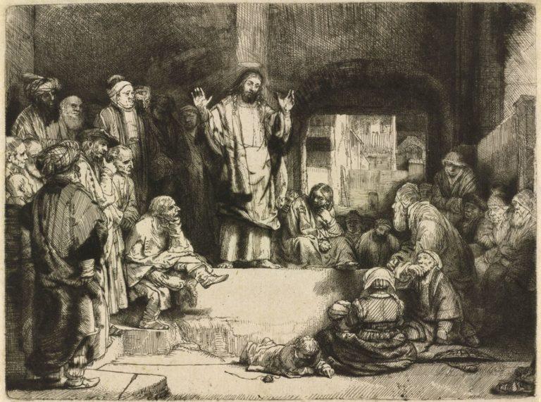 Проповедующий Христос. 1652