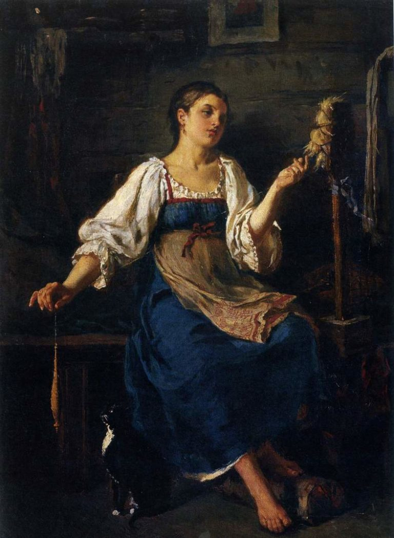 «Пряха» (1864)