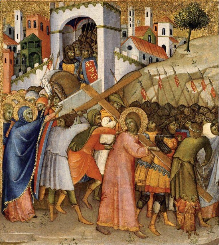 Путь на Голгофу. 1400 или 1415-1420