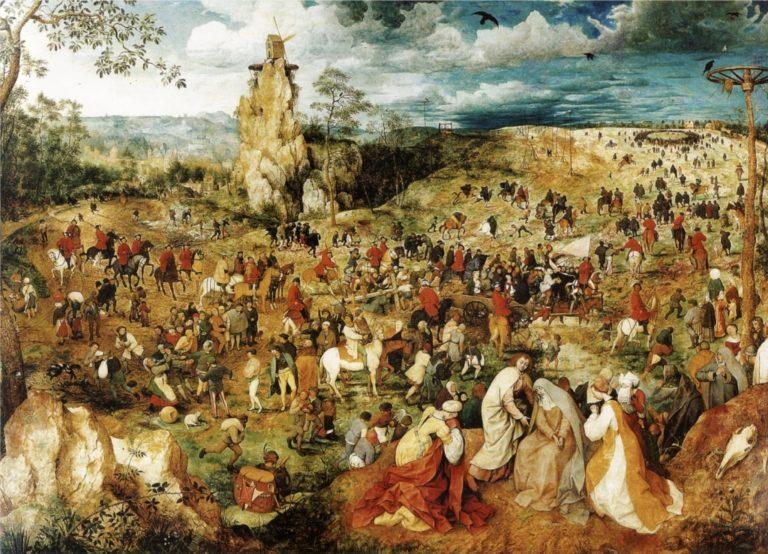 Путь на Голгофу. 1564