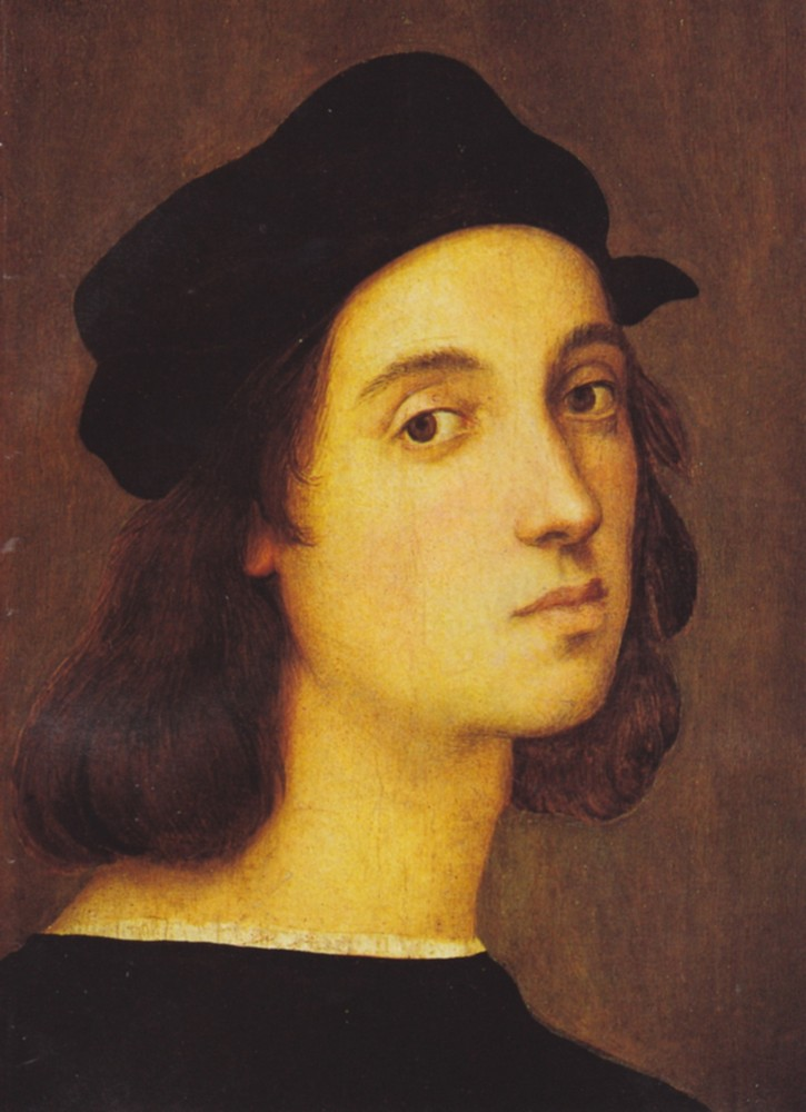 Рафаэль Санти (1483 — 1520). Автопортрет