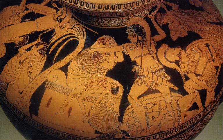 Разграбление Трои (начало V в. до н.э.)