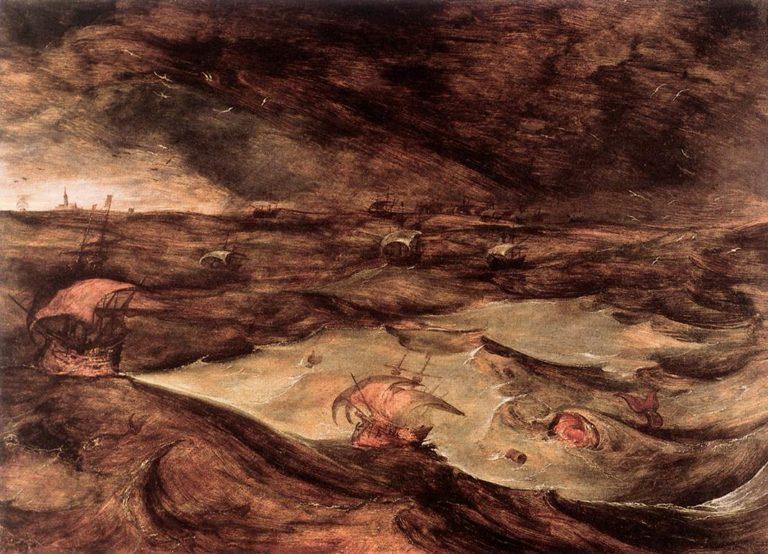 «Шторм на море» (1568)