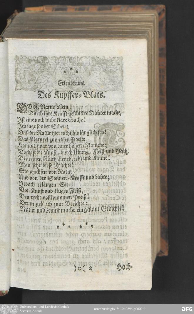 Сборник духовных и светских стихов Соломона Франка (1711)