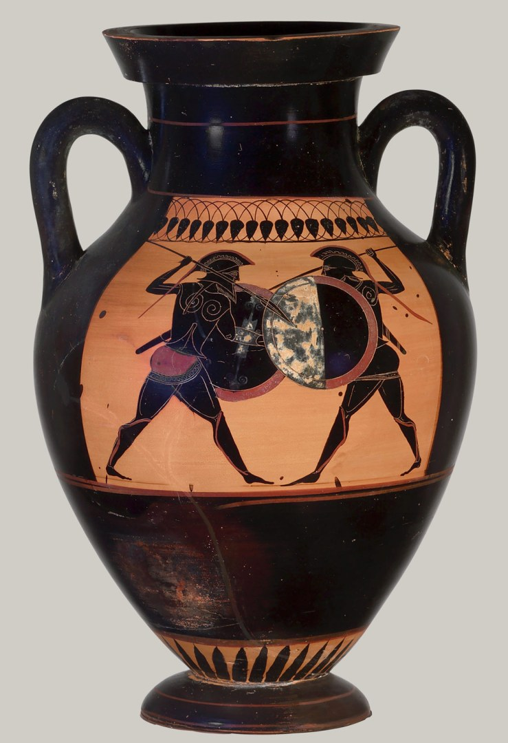 Схватка гоплитов (ок. 530 г. до н.э.)
