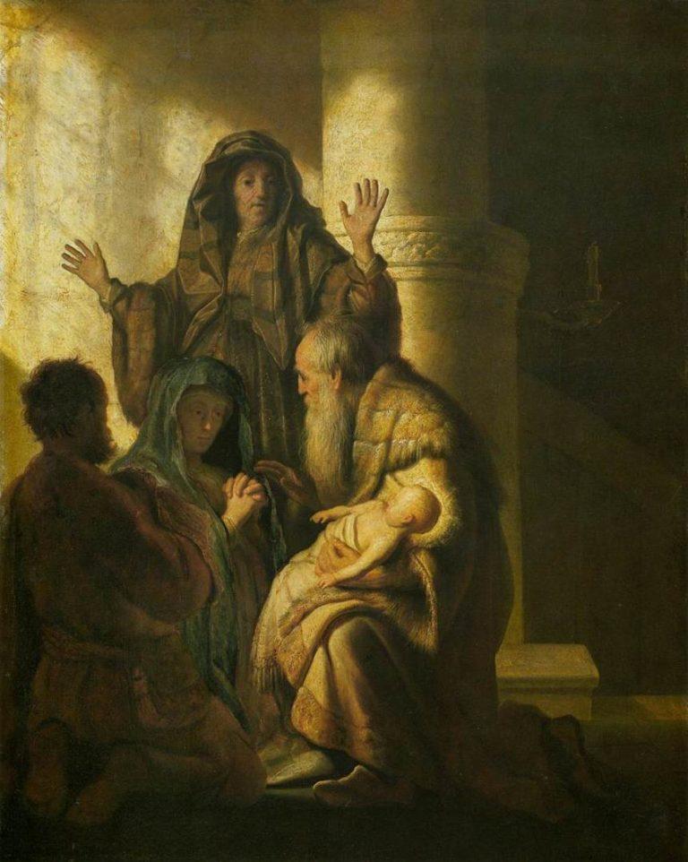 «Симеон и Анна признают в Иисусе Господа» (1627)