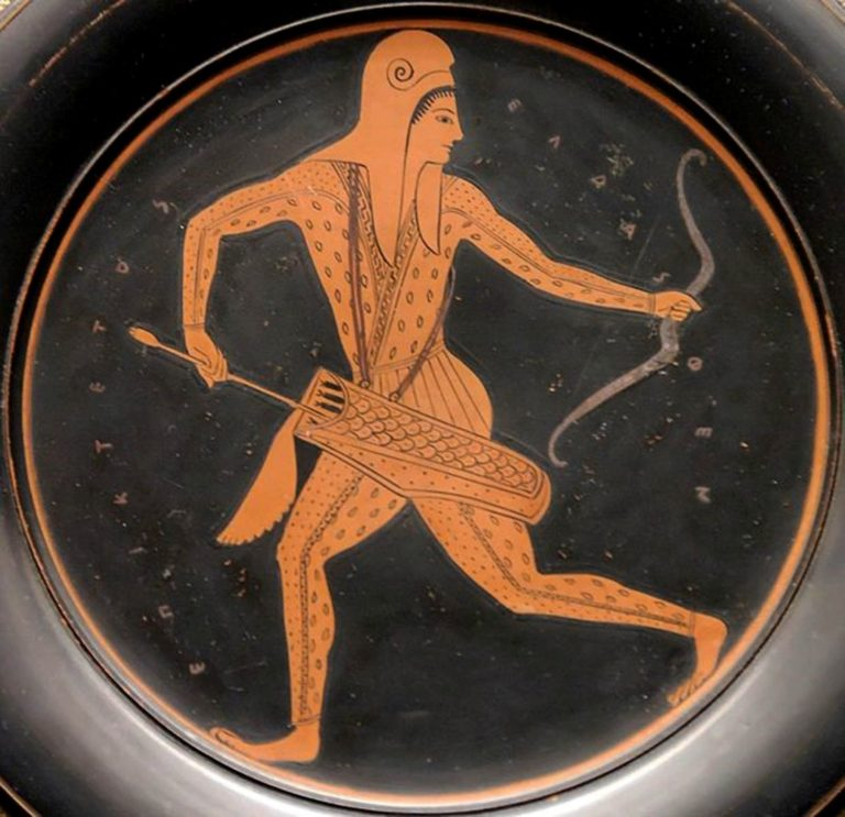 Скифский лучник. 520-500 гг. до н.э.