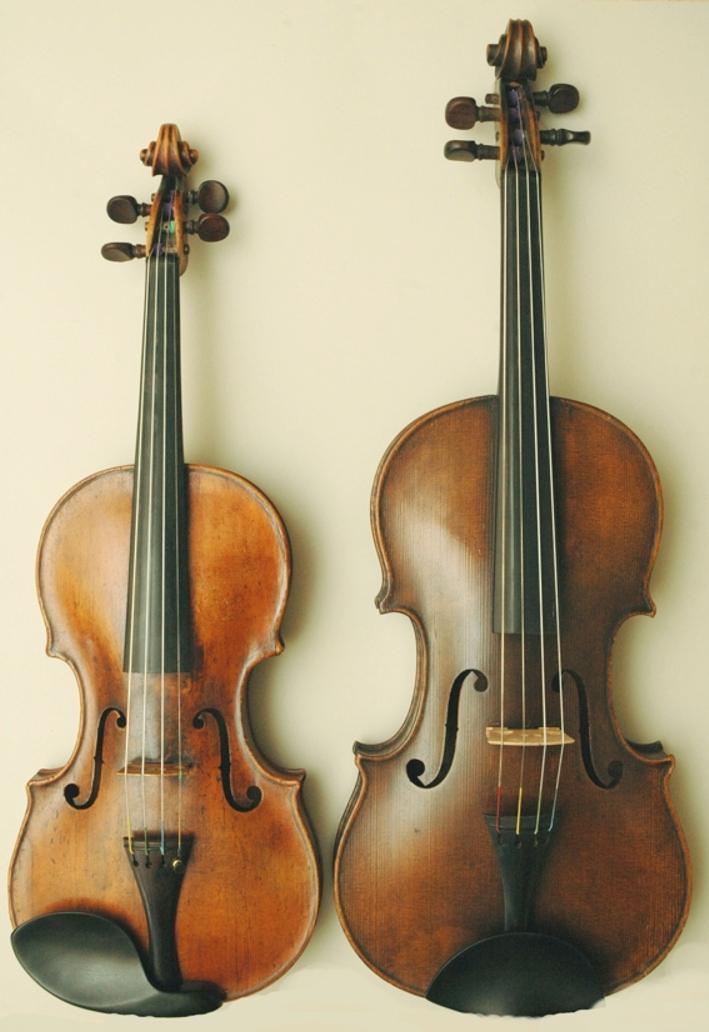 Скрипка и альт