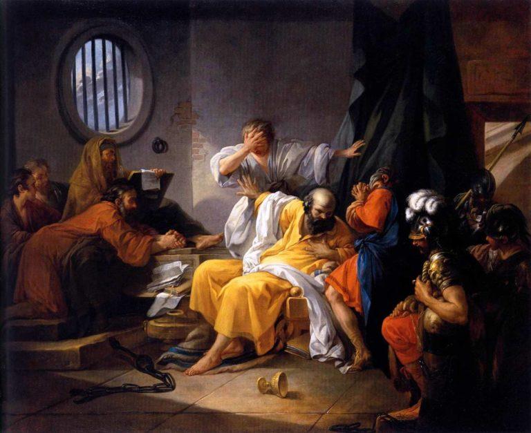 «Смерть Сократа» (1785)