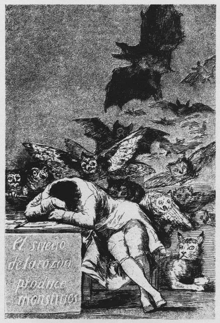 Сон разума рождает чудовищ. 1799