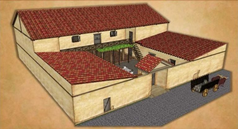 Современная реконструкция древнегреческого дома
