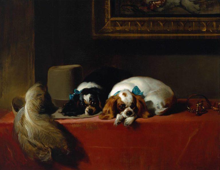 «Спаниели короля Карла», или The Cavalier's Pets (1845)