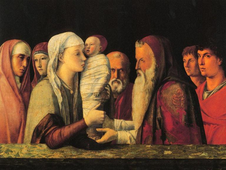 «Сретенье Господне» (Presentasjonen av Jesus i templet, ок. 1459)