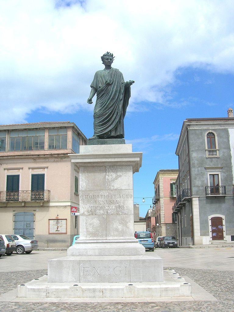 Статуя Горация