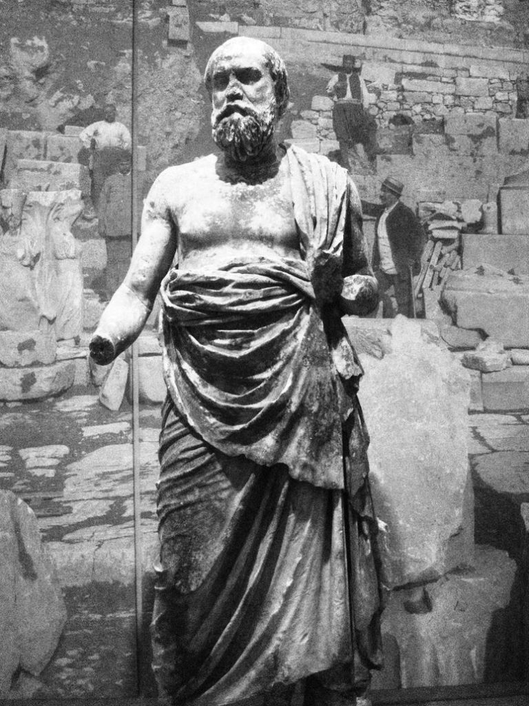 Статуя Сократа