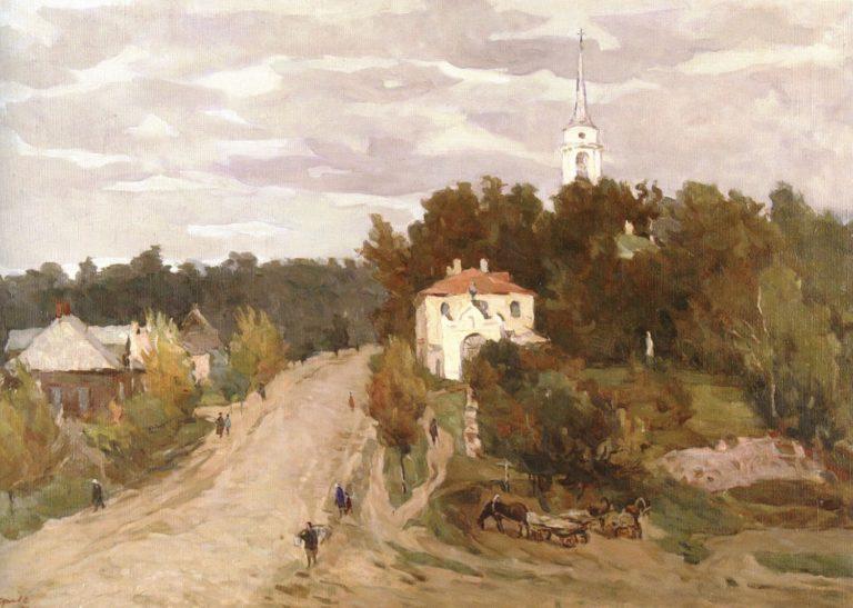 «Пушкинские горы. Святогорский монастырь.» (1955)
