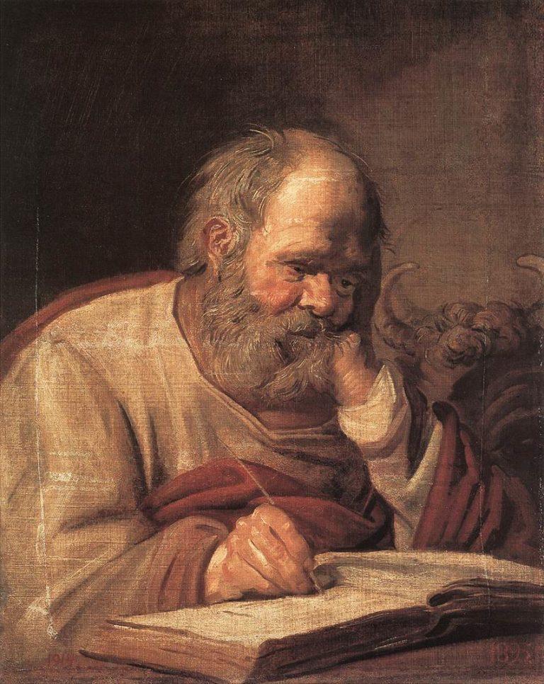 Святой Лука (ок. 1625)