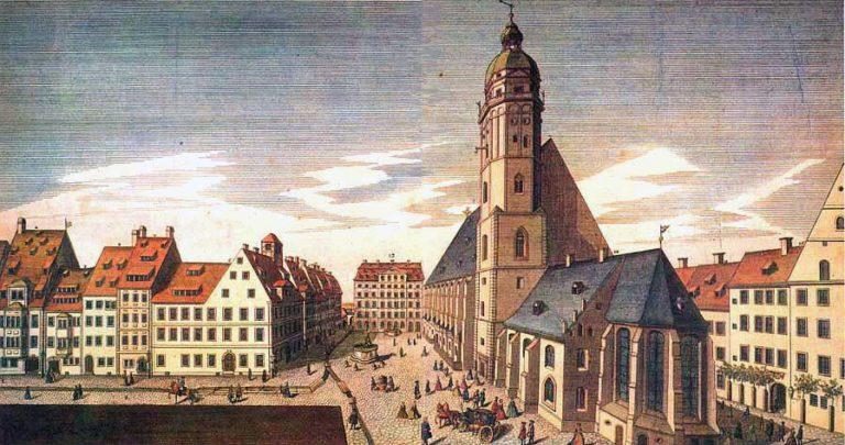 Церковь и школа св. Фомы в Лейпциге