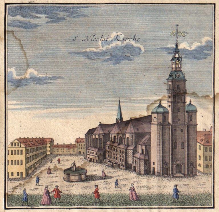 Церковь св. Николая (до 1749 г.)