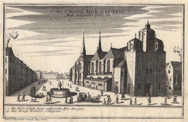 Церковь св. Николая в Лейпциге (1720)