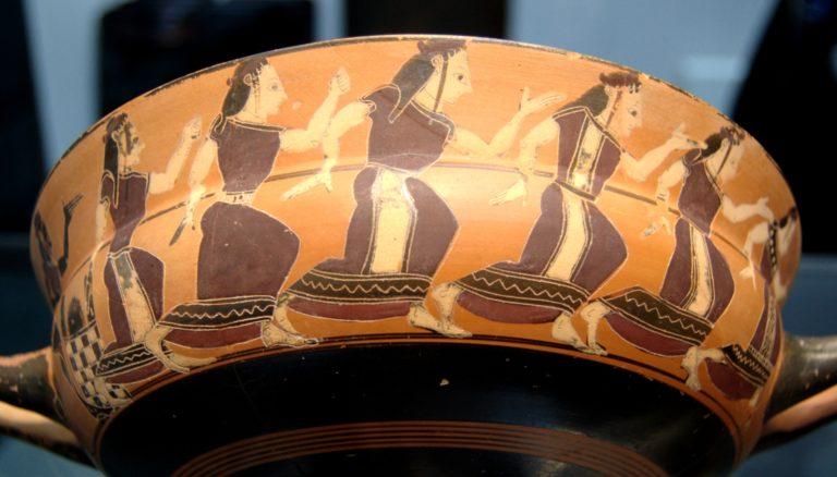 Танцующие нереиды (ок. 560 г. до н.э.)