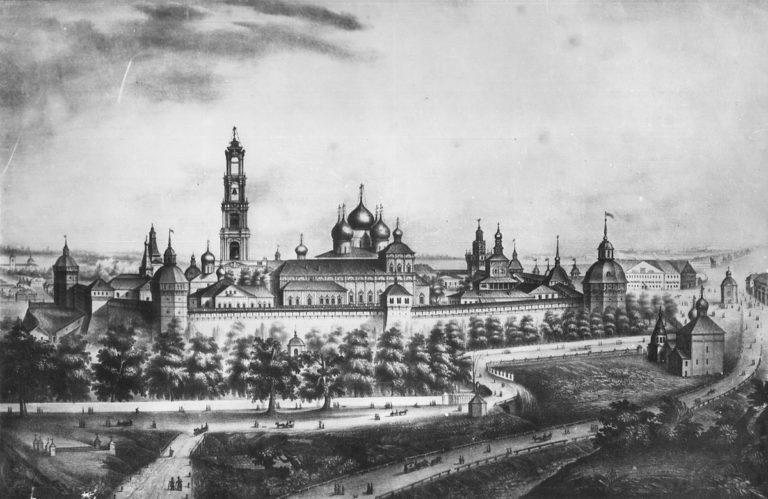 Троице-Сергиева Лавра в начале XIX века