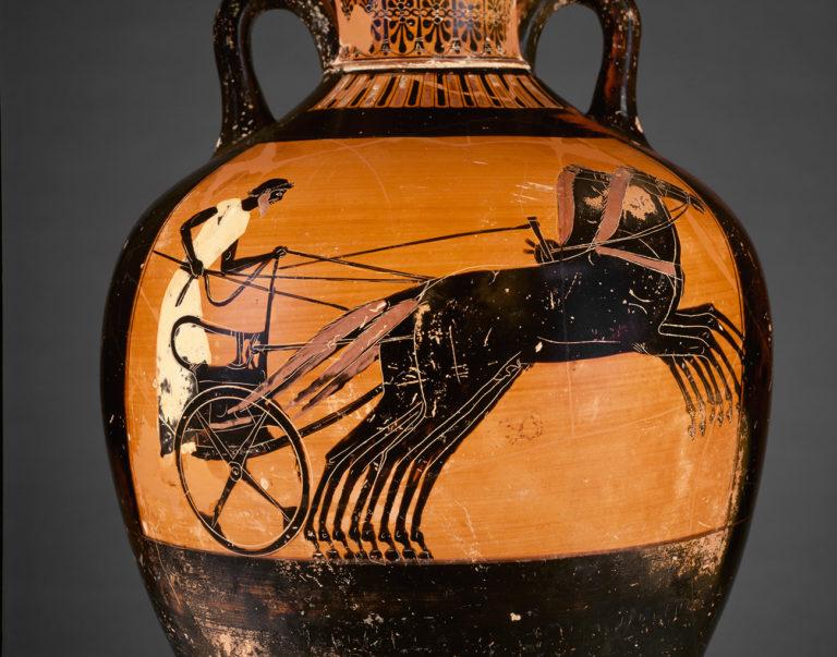 Участник гонки на колесницах. 490-480 гг. до н.э.