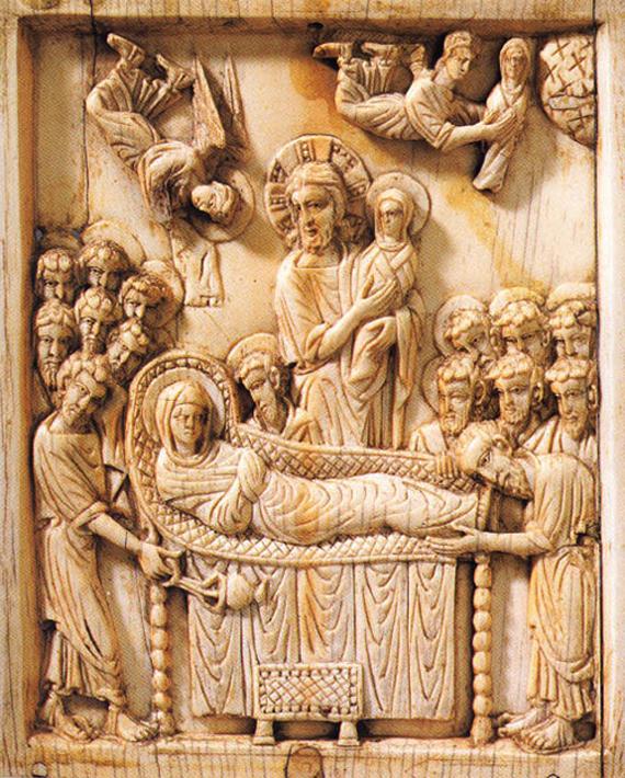 «Успение Богоматери». Византия, XI век